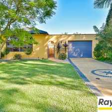 Rental info for Large 5 bedroom home in perfect location in the Glenfield area