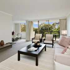 Rental info for Impressive Two Bedroom Apartment In The Northmark in the Wollstonecraft area