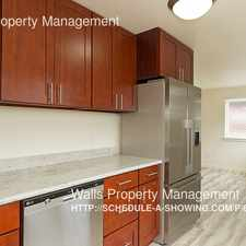 Rental info for 4314 Winslow Place N in the Fremont area