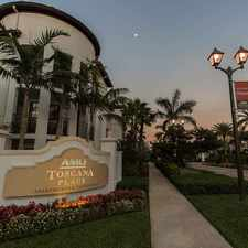 Rental info for AMLI Toscana Place in the Hollywood area