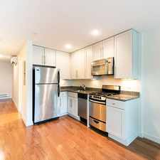 Rental info for N Washington St in the North End area