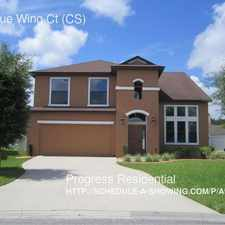 Rental info for 3691 Blue Wing Ct (CS)
