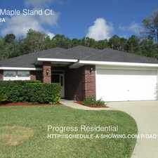 Rental info for 2556 Maple Stand Ct. in the Jacksonville Farms-Terrace area