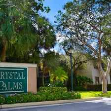 Rental info for Crystal Palms