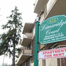Rental info for 622 Upper Wentworth Street #304
