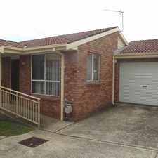 Rental info for Fantastic Blackbutt Location in the Wollongong area