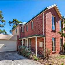 Rental info for Two Storey Townhouse in the Ballarat area