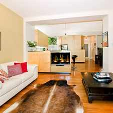 Rental info for DEPOSIT TAKEN - LARGE OPEN PLAN LIVING 'IN THE ALEXANDER' in the Sydney area
