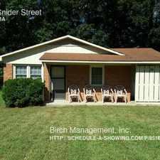 Rental info for 211 Snider Street