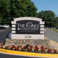 Rental info for The Oaks at Falls Church in the McLean area