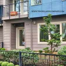 Rental info for 8538 North Central Street in the Cathedral Park area