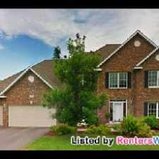 Rental info for Luxurious 2 Story Brick Home In Rosemount