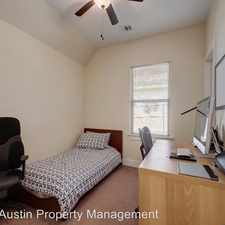Rental info for 2510 E 9th St in the Govalle area