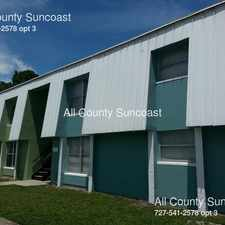 Rental info for 7450 35th Street in the St. Petersburg area