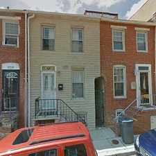 Rental info for Single Family Home Home in Baltimore for For Sale By Owner