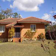 Rental info for SMALL NEAT BRICK COTTAGE IN LOTA in the Brisbane area