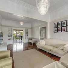 Rental info for Application Approved!! Beautifully Renovated Queenslander with a Pool in the Brisbane area