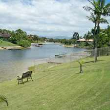 Rental info for Spacious 4 bedroom waterfront home - Mermaid Waters! in the Gold Coast area