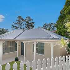 Rental info for DEPOSIT TAKEN - Property No Longer Available in the Wahroonga area
