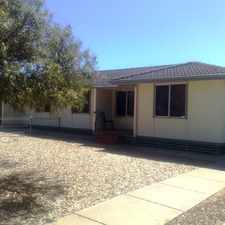 Rental info for 79 Gail Crescent in the Murray Bridge East area