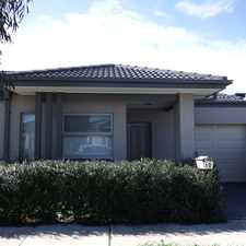 Rental info for Modern Family Home in the Melbourne area