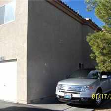 Rental info for $850 3br - THIS IS A LOT OF TOWNHOUSE FOR THE MONEY!* in the North Las Vegas area