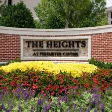 Rental info for Heights at Perimeter Center