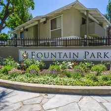 Rental info for Fountain Park