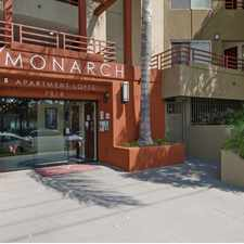 Rental info for Monarch in the Reseda area