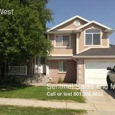 Rental info for 2314 N 10 West