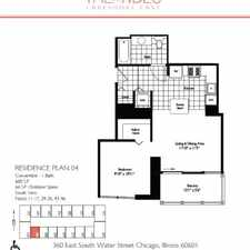 Rental info for $1960 1 bedroom Apartment in Downtown Loop