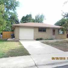 Rental info for 1121 South Gay Drive in the Longmont area