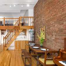 Rental info for E 18th St & Irving Place