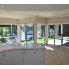 Rental info for *** PRICE REDUCED DON'T MISS OUT - CALL DEBBIE NOW *** EXECUTIVE BRISBANE RIVERFRONT HOME in the Brisbane area
