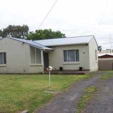 Rental info for Close to Melaleuca Park Primary School in the Mount Gambier area