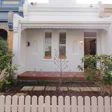 Rental info for A VICTORIAN BEAUTY in the Fitzroy North area