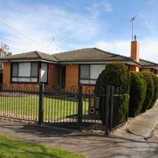 Rental info for Welcome Home! in the Geelong area