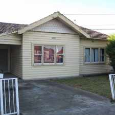 Rental info for Weatherboard Family Home
