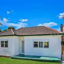Rental info for House for Rent-Blacktown