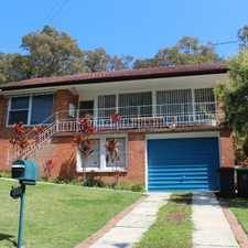 Rental info for Stunning Outlook in the Newcastle area