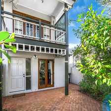 Rental info for SPACIOUS TOWNHOUSE IN HEART OF KANGAROO POINT! in the Kangaroo Point area