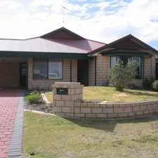Rental info for 4 X 2 IN PORT KENNEDY. in the Perth area