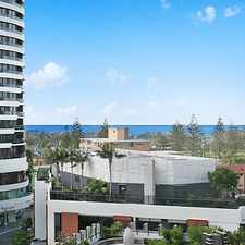 "Rental info for SPACIOUS OCEAN FACING UNIT IN THE ""ORACLE"" in the Broadbeach area"