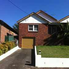 Rental info for Updated Two Bedroom Duplex in the Hurstville Grove area