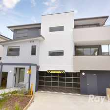 Rental info for Near new first floor 2 bedroom apartment in central Croydon in the Melbourne area