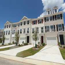 Rental info for This immaculate upgraded 3 level town home in sought after Magnolia Park of Wildewood