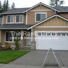 Rental info for 8532 28th Way SE Lacey, WA 98513
