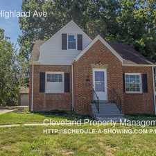 Rental info for 9520 S Highland Ave
