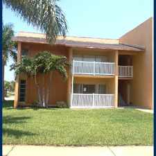 Rental info for 250 N Banana River Dr
