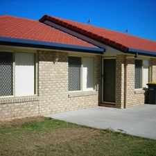 Rental info for DUPLEX LIVING in the Hervey Bay area